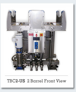 TBC2 - Standard 2 Barrel Washing System