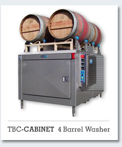 TBC-Cabinet 2 & 4 Barrel Washer